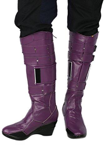 Nebula Boots Deluxe Purple PU Knee-high Fashion Cosplay (Guardians Of The Galaxy Nebula Costume)
