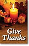 Give Thanks (Packet of 100, KJV)