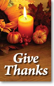 Give Thanks (Packet of 100, - How Order Track I An Can