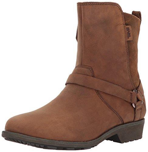 Teva Damen Delavina Dos Ws Chelsea Boots Braun (Bison)