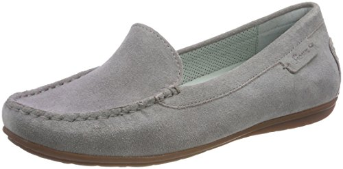 Grey Muita 002 Blue Moccasins Women's Metal Sioux wIaqA5x