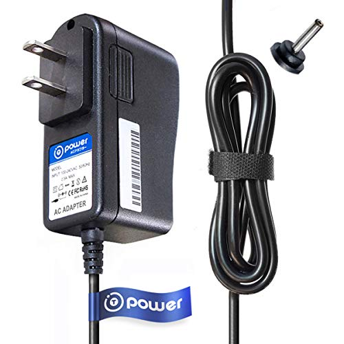T-Power Ac Dc Adapter Charger Compatible with Eton Grundig FR360 GPX PC308B PC108B PC332B PC800 PC800B PC101B A03783 Portable Compact Disc CD Player Replacement Power Supply Cord