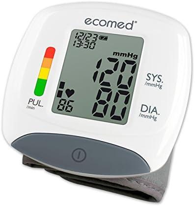 Medisana BW-82E Handgelenk-Blutdruckmessgerät 23212, mit Arrhythmie-Anzeige, mit WHO Ampel-Farbskala und leicht lesbarem Display, für eine präzise Blutdruckmessung