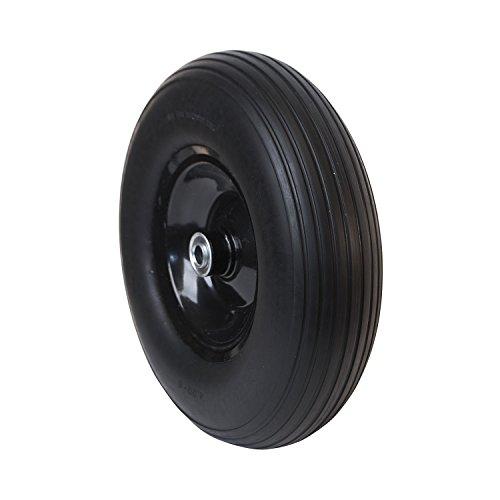 ALEKO-WBNF13-Flat-Free-Replacement-Wheels-for-Wheelbarrow-13-Inch-No-Flat-Tire-Black
