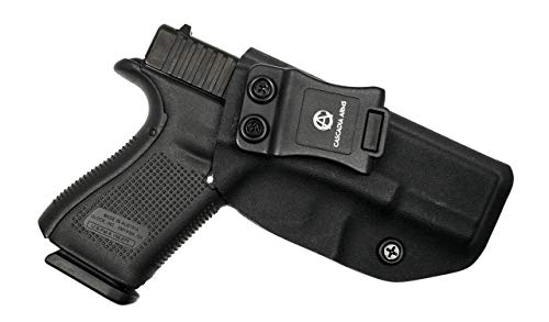 Cascadia Arms Glock 19/19X/23/32 (Gen 1-5) IWB Kydex Holster | Lightweight Comfort Concealment | Inside The Waistband Concealed Carry Holster | Adjustable Retention and Cant
