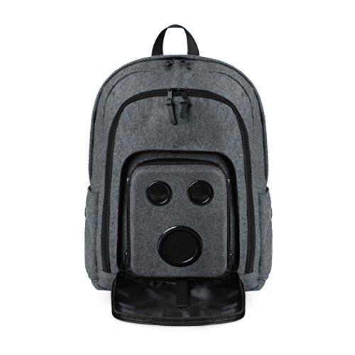 Bluetooth Speaker Backpack with 15-Watt Speakers & Subwoofer for Parties/Festivals / Beach/School. Rechargeable