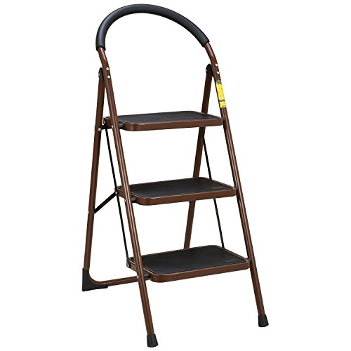 Ollieroo Home Kitchen Features Ladder En131 Steel Folding