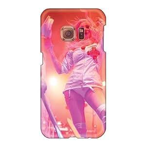 Great Hard Phone Case For Samsung Galaxy S6 (OML13132bpqR) Custom Vivid Maria Brink Band Series