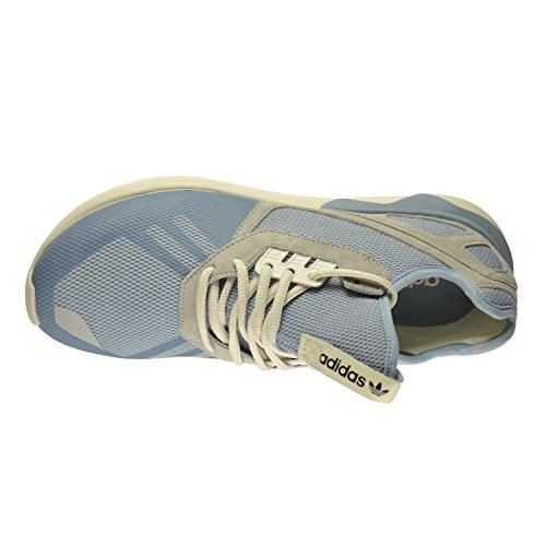 Adidas Tubular Runnner Chaussures Pour Hommes Poussière Bleu / Onix / Legacy Blanc B23884