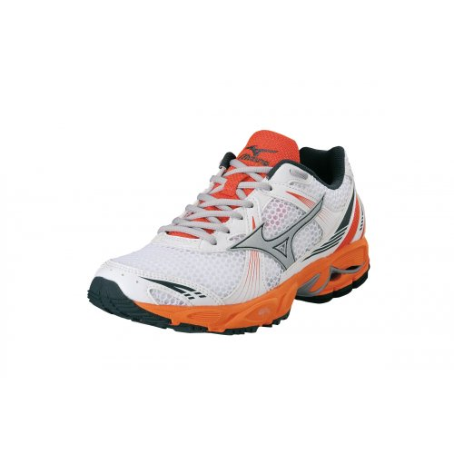 Mizuno Women Wave Ovation 2 / 8KN-21355 Farbe: White/Silver/Ember