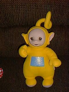 "Teletubbies Talking 16"" Laa Laa Doll by Playskool 1998"