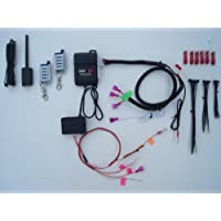 Remote Starter Kit w/ Keyless Entry for Dodge Caravan, Chrysler Town & Country, Pacifica 2004-2008