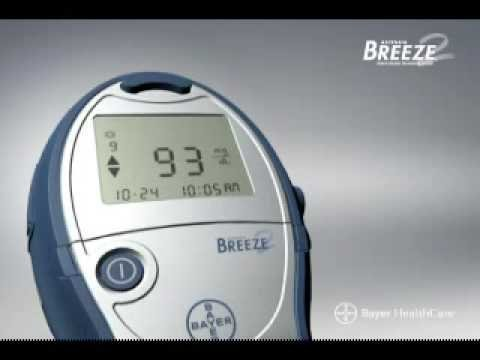 Bayer Breeze2 Blood Glucose Meter Only by Breeze 2