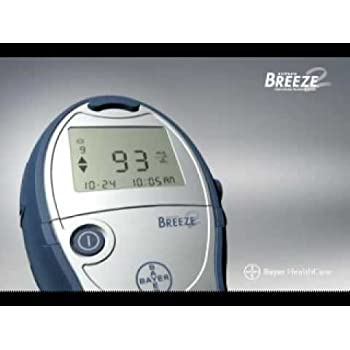 Amazon Com Bayer Ascensia Breeze 2 Blood Glucose