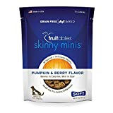 Fruitables Skinny Minis Grain Free Soft Dog Treats Pumpkin & Berry Flavor 5 Oz Larger Image