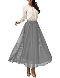 Amazon.com: Grey - Skirts / Clothing: Clothing, Shoes & Jewelry