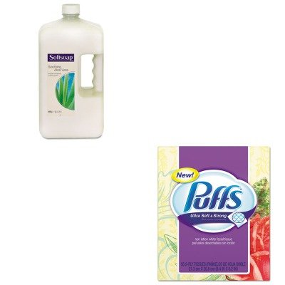 KITCPM01900EAPAG35038 - Value Kit - Procter amp; Gamble Professional Facial Tissue (PAG35038) and Softsoap Moisturizing Hand Soap w/Aloe (CPM01900EA)