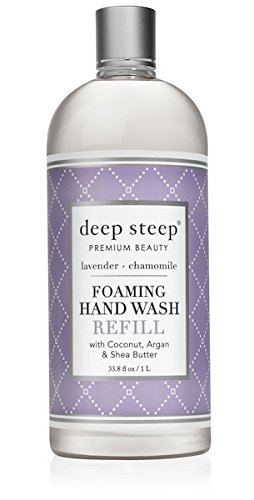 Deep Steep foaming hand wash refill, lavender chamomile, 32 fl. oz. 12013