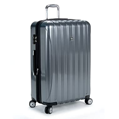 Delsey Luggage Helium Aero 29 Inch Expandable Spinner Trolley, 29 Inch - Titanium