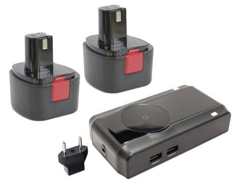 UpStart Battery 2-Pack Lincoln 12V Battery + Charger Repl...
