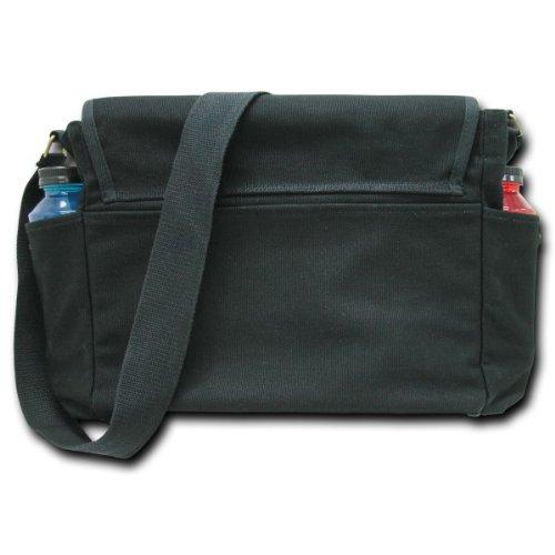 IPAD Bags R31 Black + R34 Olive Rapid Dominance Classic Military Messenger Bag Laptop