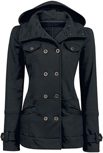 Forplay Cushy Coat Tussenseizoensjas zwart Onbekend Casual wear, Feestdagen & gelegenheden