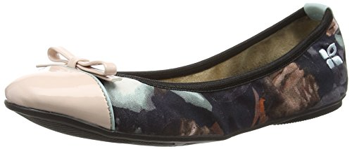 Butterfly Twists Cara - Ballerine Donna, Multicolore (Rose/Navy), 38 EU (5 UK)