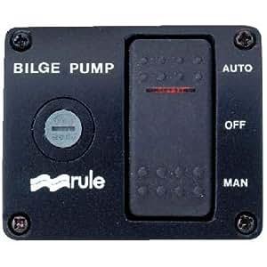 Amazon Com Rule 43 3 Way Lighted Rocker Panel Switch