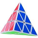 Lychee Shengshou Pyraminx Speedcubing White Twisty Puzzle