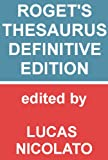 Roget's Thesaurus - Definitive Edition [Fully Searchable]