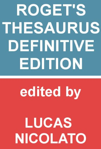 Rogets thesaurus definitive edition fully searchable kindle rogets thesaurus definitive edition fully searchable by roget peter mark m4hsunfo