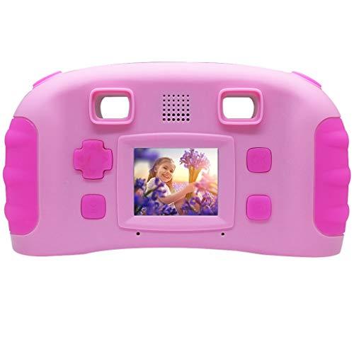 1.3 Pixel Camera - Children's Creative Camera 1.77-inch 1.3 Mega Pixels Digital Camera Game Digital Camera HD Motion Camera (Pink)