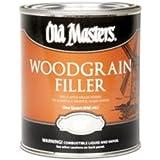 Old Masters Woodgrain Filler Natural Tone Quart Fills Open-Grain Woods