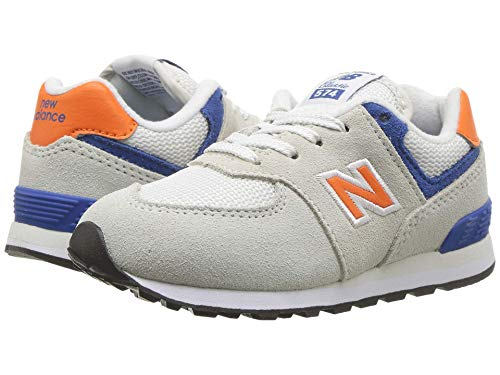 [new balance(ニューバランス)] メンズランニングシューズ?スニーカー?靴 IC574v1 (Infant/Toddler) Nimbus Cloud/Bengal Tiger 6 Toddler (13.5cm) W