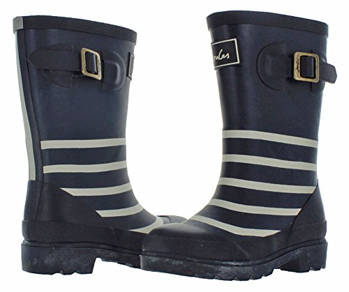 Joules  Printed Welly,  Jungen Halbhohe Stiefel mit dünnem Futter Blue (Navy Stripe)