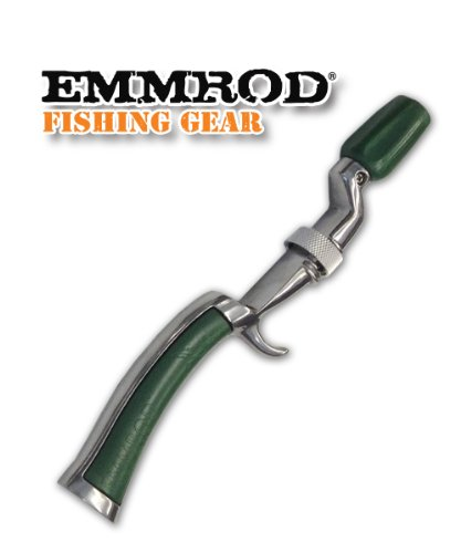 Emmrod (GREEN) Packer Fishing Pole Rod Handle Only
