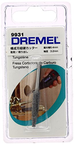 Tungsten Cutting Carbide (Dremel 9931 Structured Tooth Tungsten Carbide Cutter)