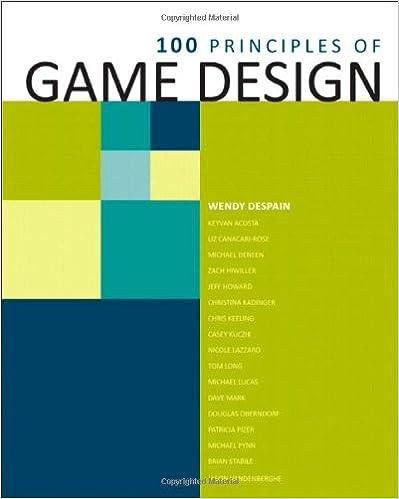 Amazon.com: 100 Principles of Game Design (9780321902498): DESPAIN ...