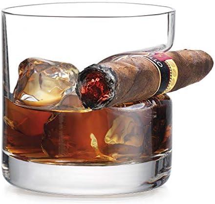 Godinger Cigar Glass Fashioned Indented product image
