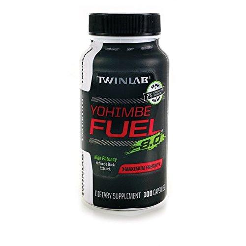Yohimbe Fuel Twinlab Twl Capsules du supplément Diet, comte 100