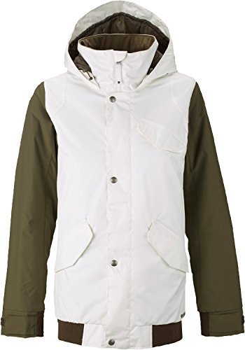 Burton TWC Sunset Snowboard Jacket Stout White/Wren Womens Sz M