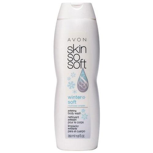Skin so Soft Winter Soft + Hydroseal Complex Polishing Body Wash