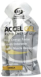 Pacific Health  Accel Gel, Vanilla, Net Wt. 1.3 Oz.  24 pack