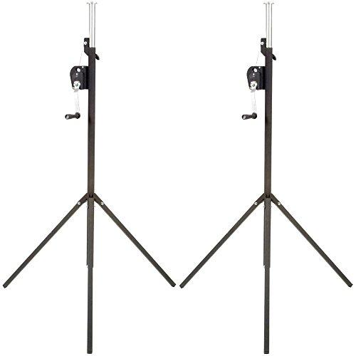 Light Duty Crank Stand - Global Truss ST-90 9Ft Light Duty Crank Stand 2 Pack