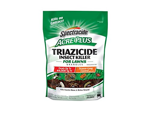 Spectracide Triazicide Acre Plus Insect Killer For Lawns Granules, 35.2-Pound