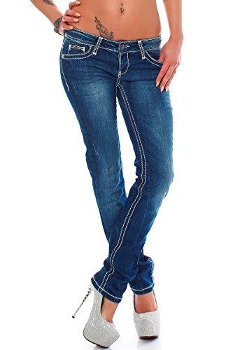 Jeans Bleu Baxx Bleu Femme Modell amp; Cipo 02 Bleu Slim PE7gZn
