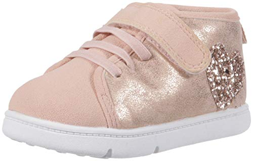 Carter's Every Step Atami-P Baby Girl's Walking High-Top Sneaker, Rose Gold, 2.5 Medium US ()