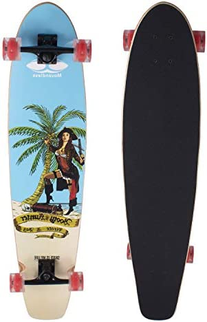 Movendless YD-0016 41.75 Inches Longboard 7 Layer Canadian Maple Wood Complete Bamboo Skateboard