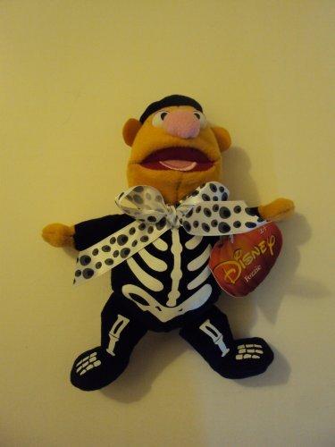 Disney Muppets Halloween Fozzie Bear As Skeleton Plush Stuffed Animal (Muppet Halloween)