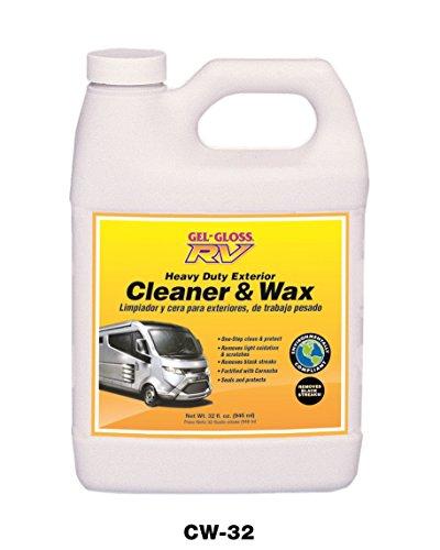 Gel-Gloss RV Cleaner and Wax with Carnauba - 32oz.